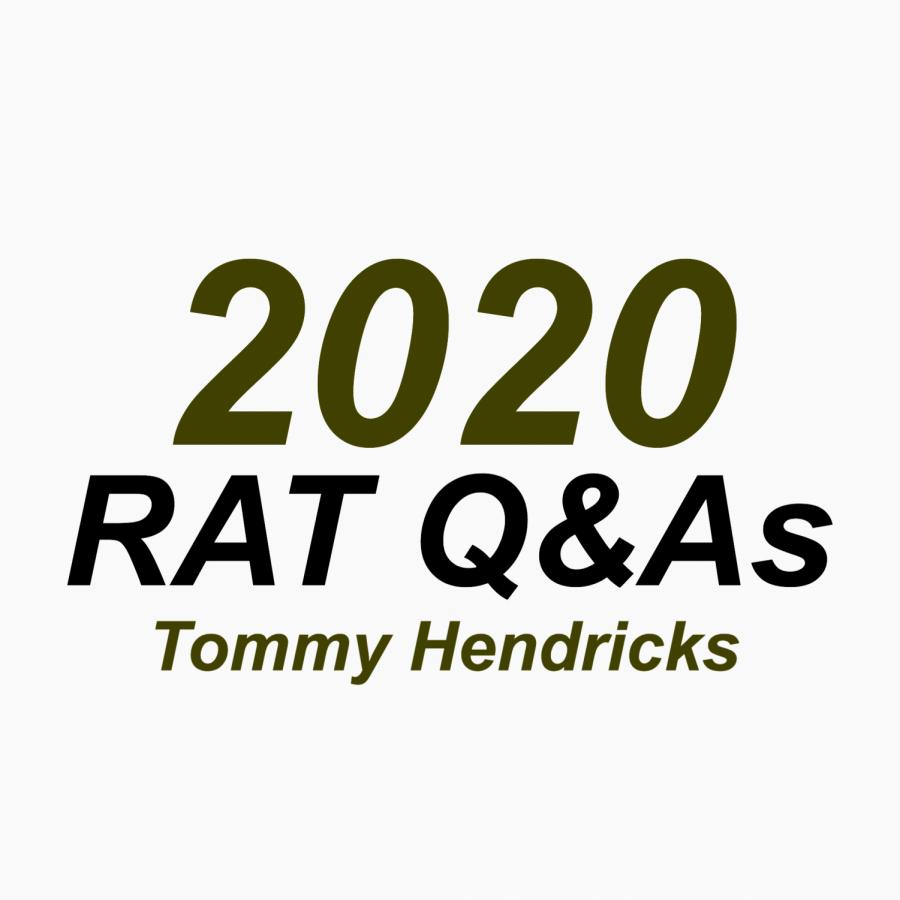 RAT Q&A: Tommy Hendricks