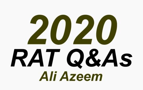 RAT Q&A: Ali Azeem
