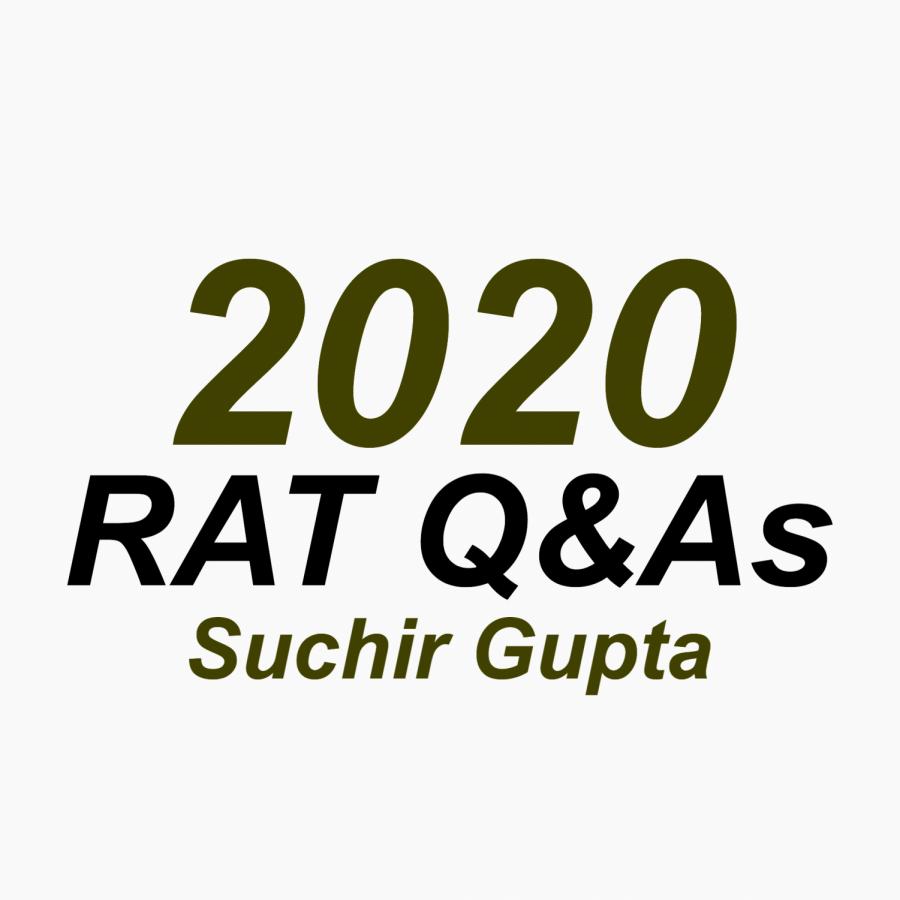 RAT Q&A: Suchir Gupta