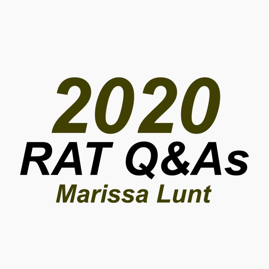 RAT Q&A: Marissa Lunt