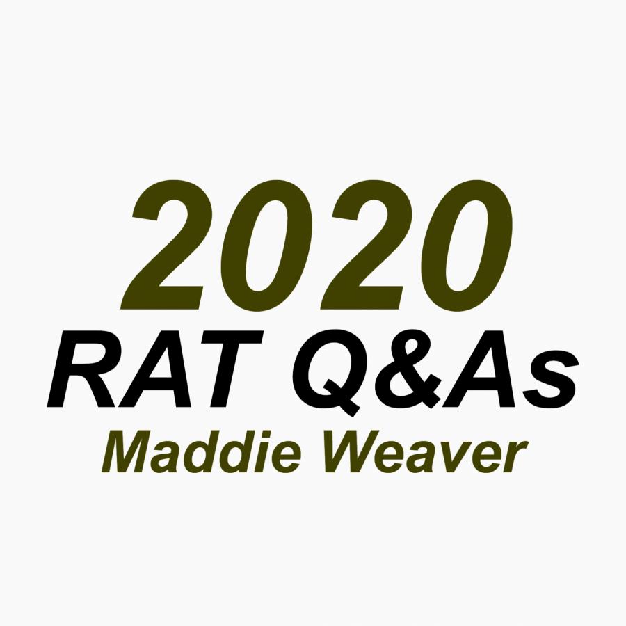 Rat Q&A: Maddie Weaver