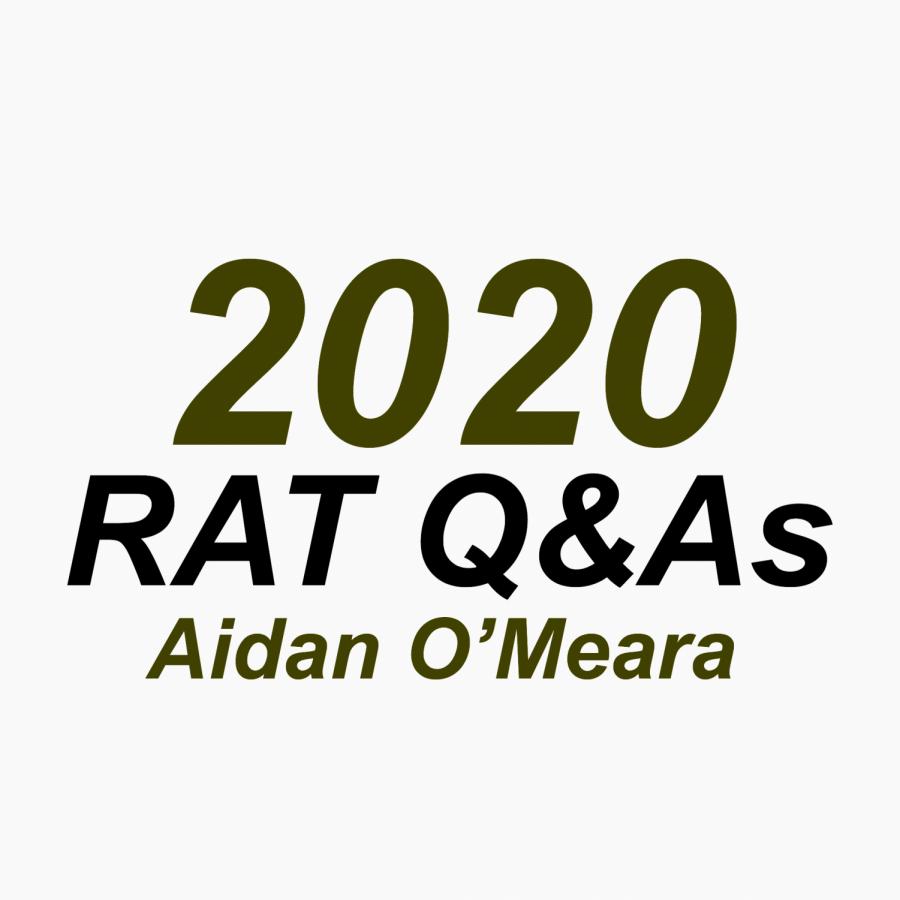 RAT Q&A: Aidan O'Meara