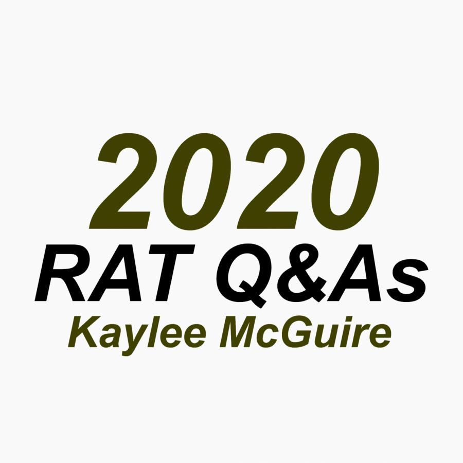 RAT Q&A: Kaylee McGuire