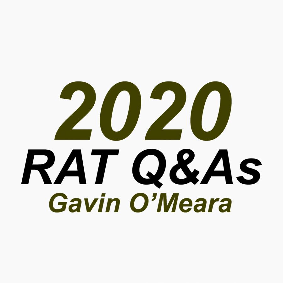 RAT Q&A: Gavin O'Meara