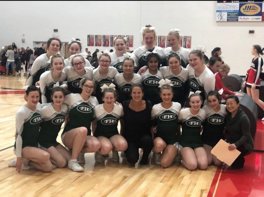 Competitive Cheer finishes fourth in first meet with more to prove
