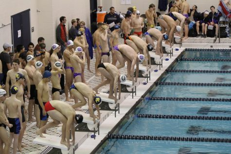 Boys Swim and Dive destroys East Kentwood and Forest Hills Northern/Eastern