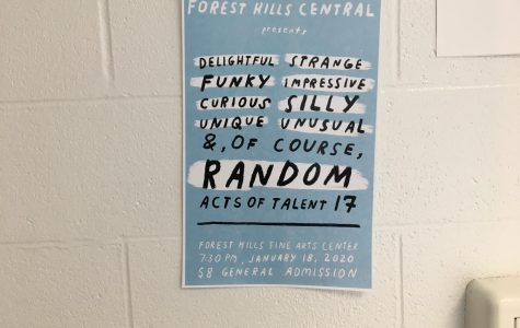 The self-expression offered by FHC's Random Acts of Talent affects not only the audience but the performers too