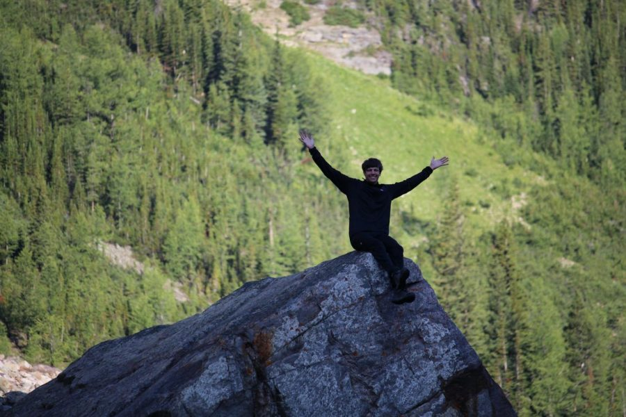 John Courcy explores life through the outdoors world
