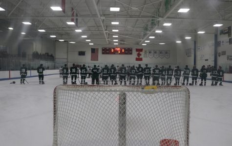 Eight different players score as hockey dominates East Kentwood in 9-1 win