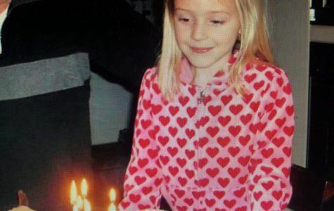 Extinguishing the candles