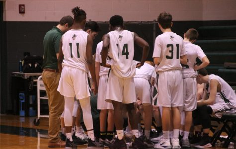 Boys JV Basketball easily puts away Allendale in the Cornerstone tournament