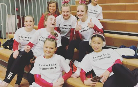 Varsity gymnastics finds success against Rockford