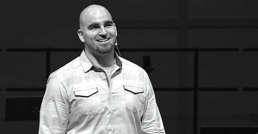 Joel Penton, former Ohio State football player, strives to send a positive message as a motivational speaker