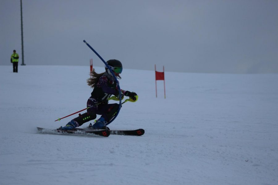 Abby McAlindon's active ski life is worth the sacrifice