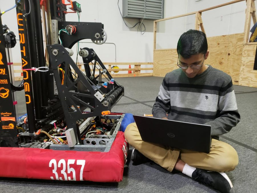Sahil Sawant uses his robotic skills in hopes of idealizing the future