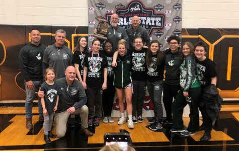 With the girls' dominance and power, wrestling earns first place title at the State Championship