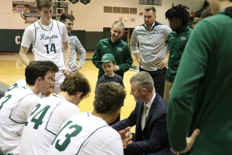 After 24 years on the sideline, boys varsity basketball coach Ken George resigns as head coach