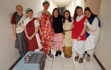 FHC's Odyssey of the Mind team comes in first place at regionals and looks forward to the state competition