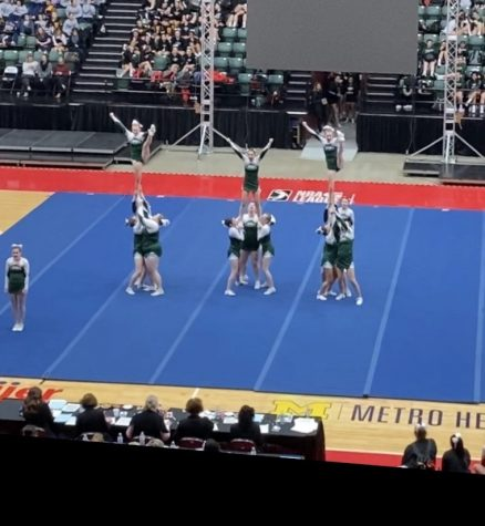 Competitive Cheer Finishes Well at DeltaPlex Invite