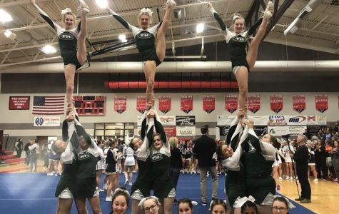 Competitive cheer ends season on high note despite not advancing to Regionals