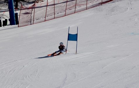 Abby McAlindon finishes her 2020 skiing season placing top 10 in both events at the MHSAA Division 2 State Finals