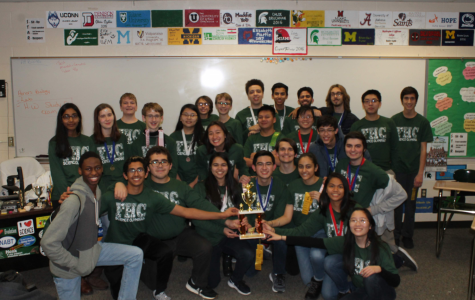 FHC's Science Olympiad team scores a win, leaving the team optimistic for regionals