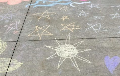 The world is full of color, and so is a box of chalk