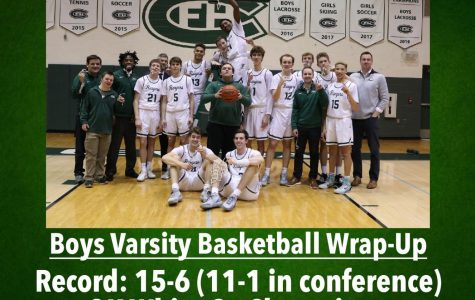 Boys varsity basketball's 15-6 season highlighted by share of OK White conference championship