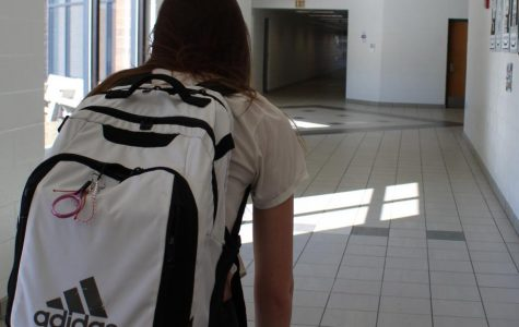 My backpack is holding me back