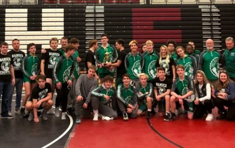 Head coach Brad Anderson leads boys varsity wrestling to outstanding season
