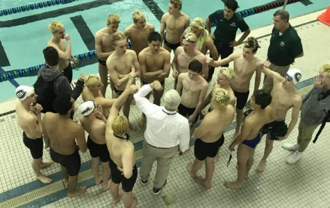 Boys swim and dive finishes fourth in the conference meet