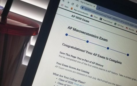 Online testing for AP classes caused complications