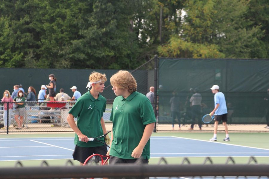 Boys+varsity+tennis+comes+back+and+defeats+Grand+Rapids+Christian+7-1
