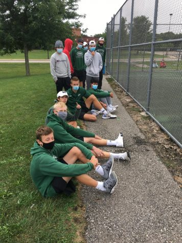 Boys varsity tennis takes a clean sweep against Lowell 8-0 to continue their winning streak