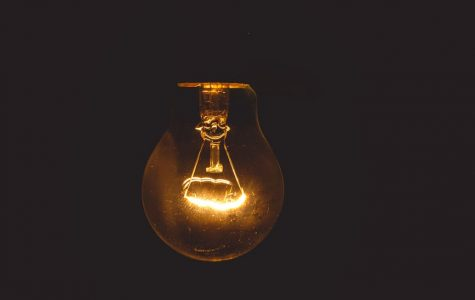 The lightbulb continues to glow