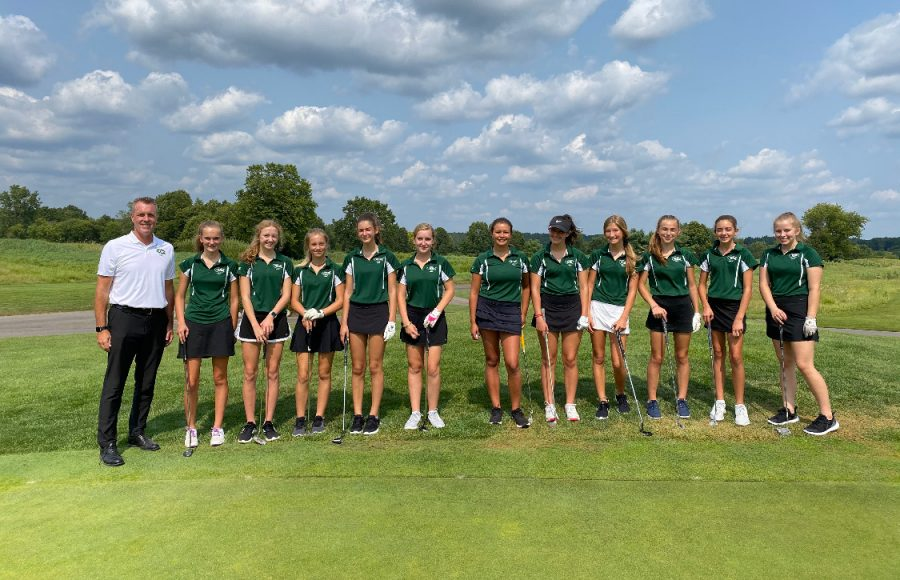 Girls JV golf overcomes adversity and ends the season on a high note