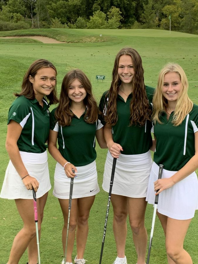 Girls varsity golf battles inconsistencies throughout the season