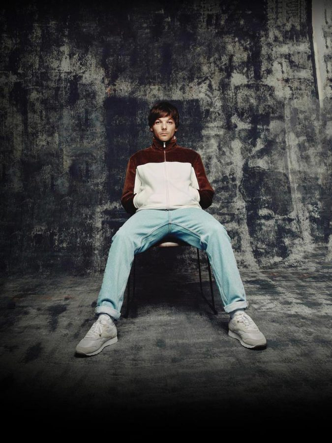 This is the cover photo of Louis Tomlinson's album.