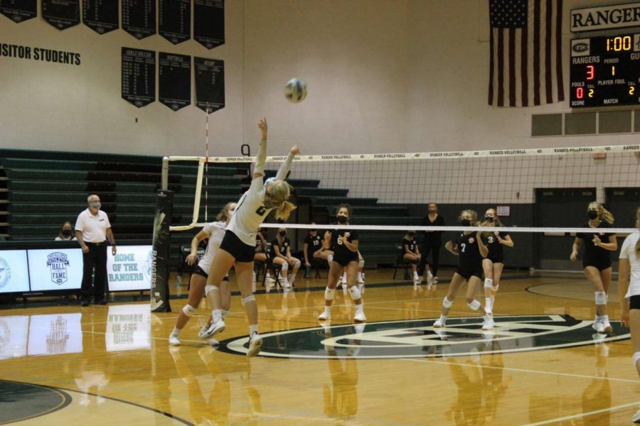 JV Volleyball goes 2-0 against FHE and FHN this year after sound win in two sets against Northern