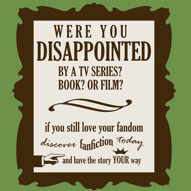 A brief commentary on the world of fanfiction
