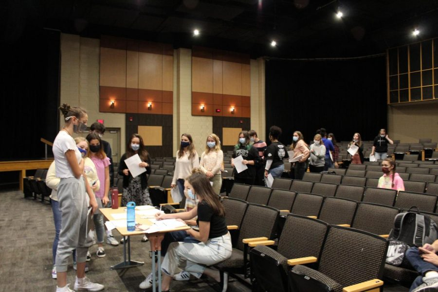 Fall Play Auditions: Photo Gallery