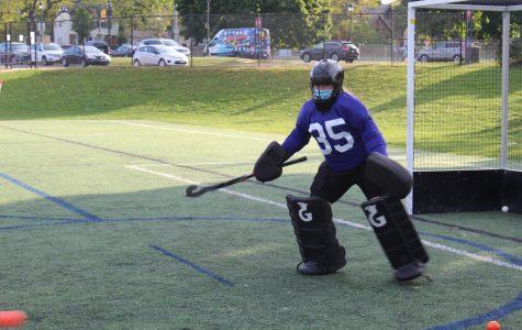 JV field hockey two game stretch