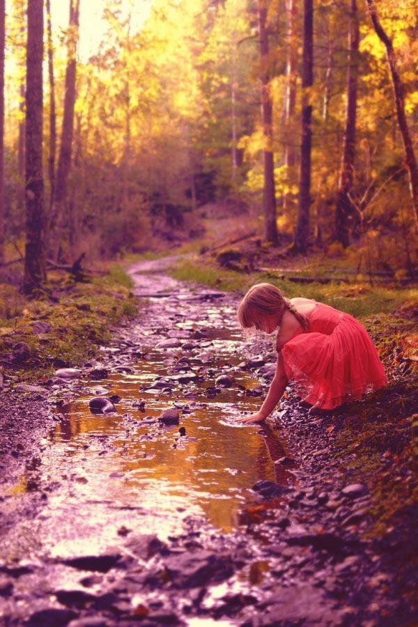 The interlocking of the stream
