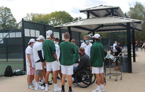 Boys varsity tennis takes third place at state tournament