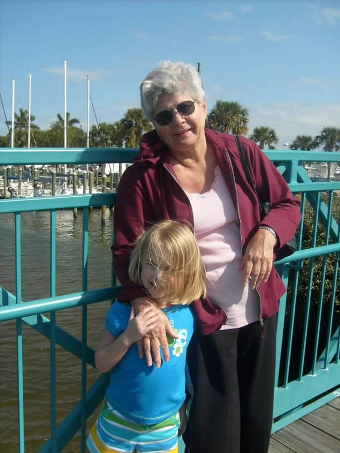 Nana and I circa 2009.