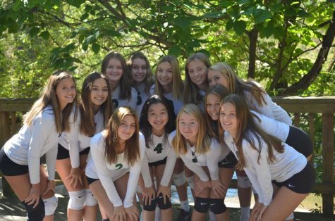 Freshman volleyball ends season as conference champions with 11-3 record
