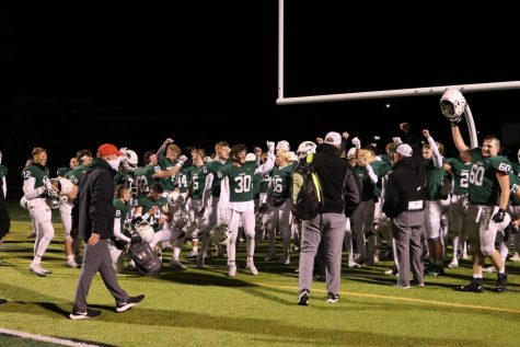Dominant defensive performance propels varsity football to 24-6 victory over FHN in Pre-District round