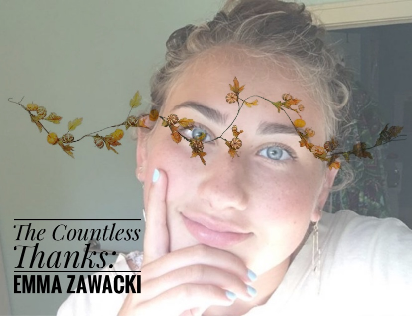 TCT's The Countless Thanks: Emma Zawacki