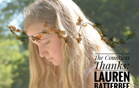 TCT's The Countless Thanks: Lauren Batterbee