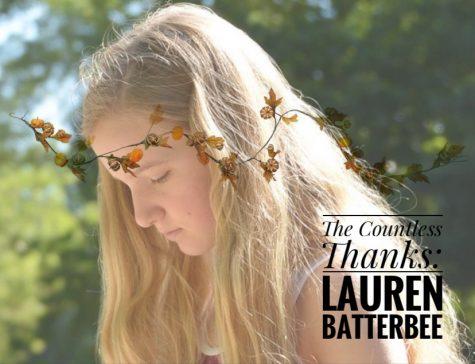 TCT's The Countless Thanks: Lauren Batterbee